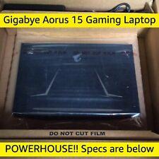 "Gigabyte Aorus 15.6"" Gaming Laptop i7 4.1GHz 512GB SSD+2TB HDD GTX 2070 16GB RAM"