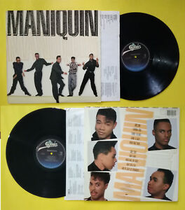 LP 33 Giri MANIQUIN Maniquin Epic FE 44246 Funk R&B 1989 USA no cd mc **PROMO**