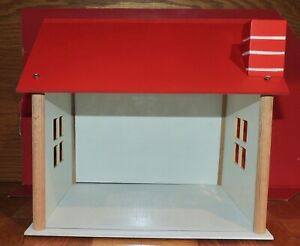 CUSTOM KIT TWO CAR GARAGE MADE OF WOOD  1:18 Scale ALL NEW