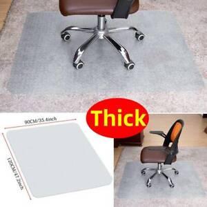120x90cm Non-Slip Spiked Carpet Floor Protective PVC Chair Mat Office Desk Mat