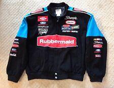 EUC Nascar Roush Racing Rubbermaid Coat-Size L
