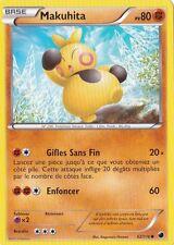 Makuhita - N&B:Glaciation Plasma - 62/116 - Carte Pokemon Neuve Française