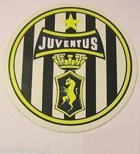 ADESIVO ORIGINALE anni '80 _ JUVENTUS Calcio (cm 9) Old Sticker Vintage