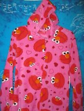 Sesame Street ELMO Hooded Footed Pajamas Costume Footie 1 PC M or XL NWT