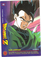 DRAGON BALL Z - Fighting cards n° 49 - SAN GOHAN