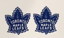 2x Toronto Maple Leafs Car Bumper Laptop Phone Wall Vinyl Die Cut Sticker Decal