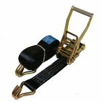 Ratchet Straps Tie Down 4 meter x 50mm Black 5 tons Claw Lashing Handy Straps