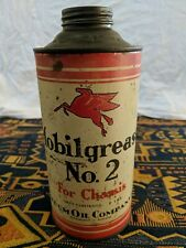 Mobilgrease Tin 2lbs - Very old and Rare
