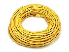 100ft Cat6 RJ45 UTP 24AWG LAN Network Ethernet Internet Router Cable Wire Yellow