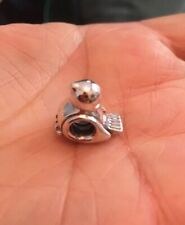 "New Retired PANDORA ""HAPPY LITTLE BIRD"" Charm # 790424 S925/ALE Sterling Silver"
