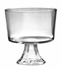 Anchor Hocking Glass Footed Trifle Bowl Dessert Server Party Xmas 3l as