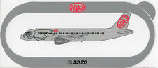 ~ NIKI ~ Airbus A320 Sticker / Decal ~ VERY RARE ~
