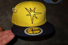 Tampa Bay Rays New Era MLB JR Fan Cap Hat Kid's youth fitted size 6 5/8 NEW