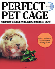 Perfect Pet Cage And Hutch Cleaner Hamster Rat Rabbit Guinea Pig Biodegradable