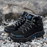 Men's Mid Trekking Hiking Boots Outdoor Hiker Winter Boots Hiking Shoes Outdoor