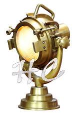 Industrielle Messing Tischlampe Vintage antik nautische Marine Schreibtischlampe