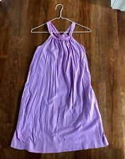 NEW Crewcuts Lilac Pocket Dress Girls Size 12 style A5409