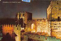 B67031 Israel Jerusalem the Citadel at night