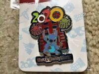 STITCH DISNEYWORLD TOWER OF TERROR 2020 CORONA YEAR PIN MINT ON CARD usa seller