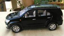 Toyota SUV Off Roader Black Fortuner Scale Toy Model India Collectible Plastic