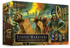 Steppe Warriors - 28 mm Multipart figures-fireforge FFG008-Free Post P3