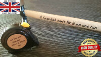 Personalised Laser Engraved Measuring Tape & Hammer Father Birthday Gift For Him