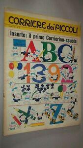 CORRIERE DEI PICCOLI N. 41 1966 - FIGURINE JUVENTUS SAVONA AREZZO
