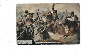 ADVERTISING POSTCARD Watson's Matchless Cleanser Early Charge of Light Brigade