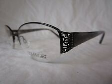COVERGIRL EYEGLASS FRAME CG0449 002 BLACK MARBLE STONES 56-18-145 NEW AUTHENTIC