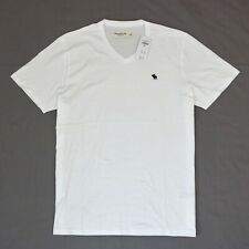Abercrombie Men V-Neck short sleeves T- shirt size Large new with tags .