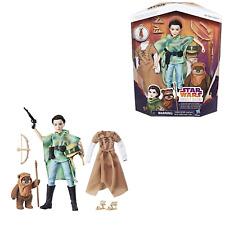 Star Wars las fuerzas del destino Endor Aventura Princesa Leia & WICKET Figuras de juguete