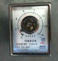 Omron STP-NMH 0-14 Hours Subminy Timer 240v
