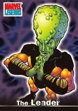 THE LEADER / Marvel Legends (Topps 2001) BASE Trading Card #59