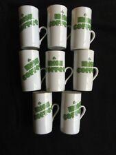 Irish Coffee Cups Gold Rim with Recipe Ireland Shamrock Esspresso Set of 8
