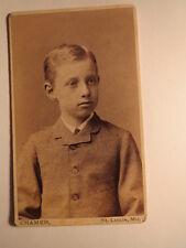 ST. Louis Missouri USA-giovane in armatura-Portrait/CDV