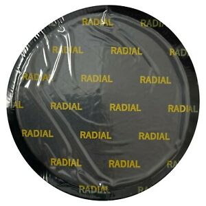 """(10) Large Round 4 1/8"""" (105 mm) Double Rubber Radial Tire Repair Patch - USA"""