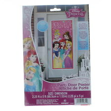 Disney Princess Plastic Party Door Poster Birthday Supplies