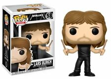 🥁 Funko POP! Rocks Metallica 58 Lars Ulrich Vinyl Figure Figurine Metal Music