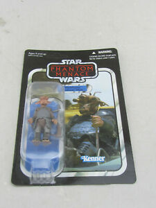 NEW - Star Wars The Phantom Menace Mawhonic (Podracer Pilot) Figure Kenner 2012