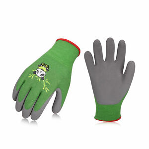 Vgo 1/2Pairs Kids' Gardening Gloves, Working and Outdoor Gloves (KID-RB6026)