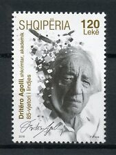 Albania 2016 MNH Dritero Agolli 1v Set Poets Poetry Writers Literature Stamps