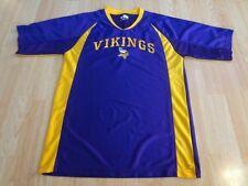 Para Hombres Camisa de Minnesota Vikings M Jersey (púrpura) Camiseta de la  NFL team apparel e9ce5768e11
