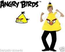 Smiffy's Yellow Angry Bird Boys Fancy Dress Party Clothes Kids Custome
