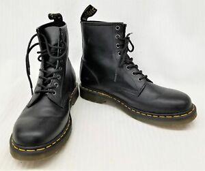 Dr Martin Size 11M / 12L Black Leather Lace Up Boots 11822
