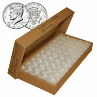 250 Direct Fit Airtight 30.6mm Coin Holders Capsules For JFK HALF DOLLARS