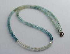 Berilo cadena Aquamarin cadena morganit heliodor piedras preciosas cadena berilo cadena hermosa