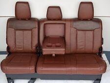 2011-2014  FORD F250 f350 F450 SUPER DUTY KING RANCH REAR SEAT 60/40