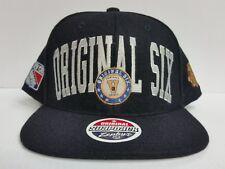 Original Six Cap Leafs Blackhawks Bruins Canadiens Red Wing Rangers Snapback Hat