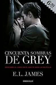 Cincuenta sombras de Grey by JAMES,E.L. Book The Fast Free Shipping