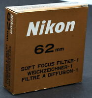 Nikon 62mm Soft-Focus #1 Filter - New